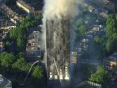 Massive fire engulfs London apartment block
