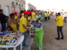 Free iftar meals for workers