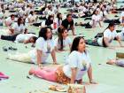 Yoga might save the world, Nahyan says