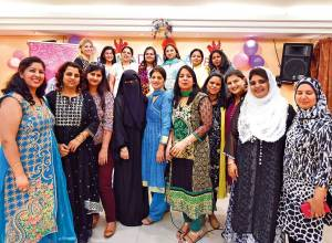 Women workers enjoy iftar get-together in UAE