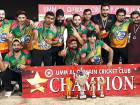 Iconic Cricket Club that emerges champions of the Umm Al Quwain Weekend Night-cricket tournament.
