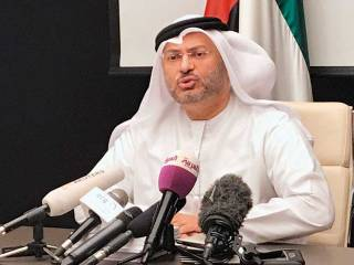 Gulf states banking on diplomacy: Gargash