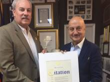 Anupam Kher honoured by New York State