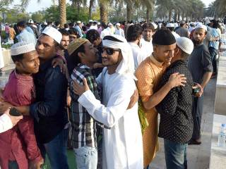 In pictures: Celebrating Eid in UAE