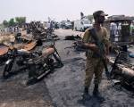 Toll in Pakistan oil tanker explosion rises