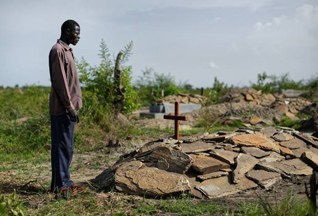 South Sudanese refugees at loss over their dead