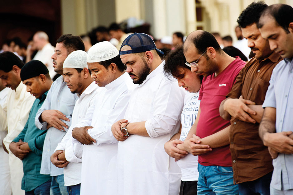 Eid Al Fitr prayers