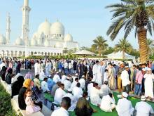UAE celebrates Eid with food and family time