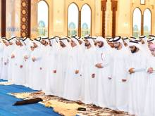 UAE Rulers offer Eid Al Fitr prayers