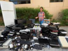 Student helps recycle over 600kg of e-waste