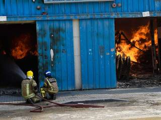 Sharjah fire: 12 warehouses destroyed