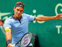 Federer set to wield the SABR at Wimbledon