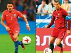 Chile's forward Alexis Sanchez (left) will be their attacking lynchpin while the South American side will be wary of Portugal's forward Cristiano Ronaldo's recent form.