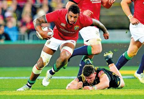 Gatland eyes forward reshuffle for second Test