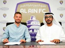 Al Ain boost attack with Swedish striker Berg
