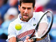 Djokovic gets past Young in Eastbourne quarters