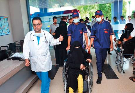 Care in India revives Yemeni woman's dream