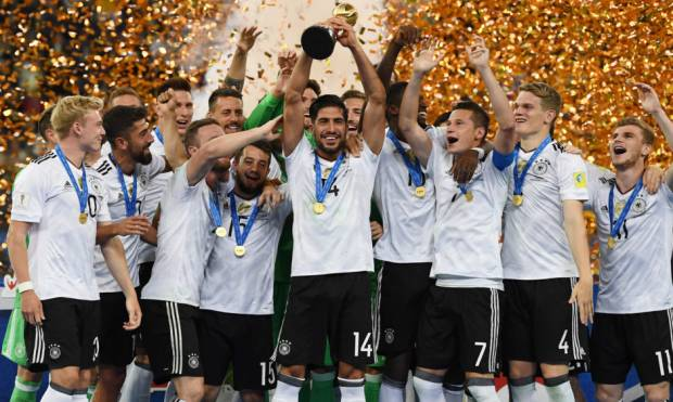 Pictures: Germany win Confederations Cup