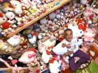 Ex-cop owns largest Hello Kitty collection