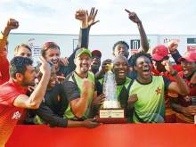 Zimbabwe clinch historic one-day series win