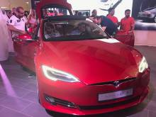 Tesla opens Dubai store, first in the Gulf
