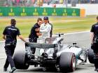 Hamilton motors to record-tying British GP pole