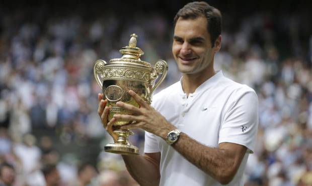 Pictures: Federer wins 8th Wimbledon title