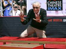 Stan Lee honoured at TCL Chinese Theater