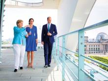 Royals take Brexit 'charm offensive' to Germany
