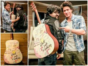 Pritam auctions guitar gifted by Shah Rukh Khan