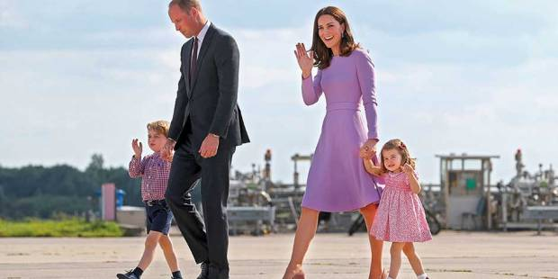New official portrait of Prince George released