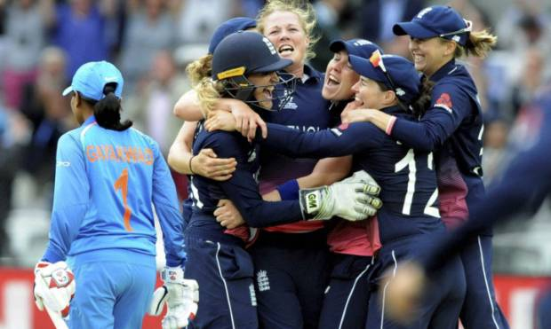 Pictures: England win Women's World Cup
