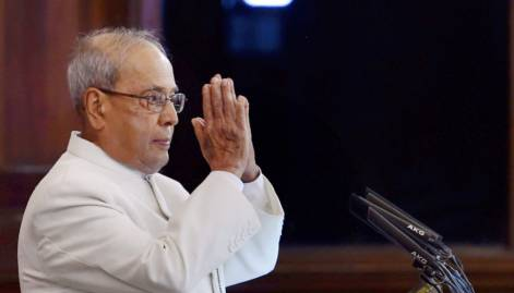 Look: How they bid farewell to Mukherjee