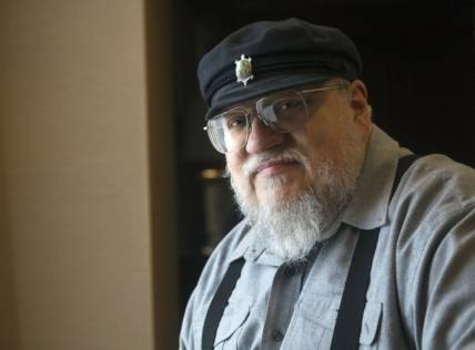 GRR Martin working on next 'Song of Ice...'