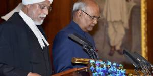 Pictures: Kovind sworn in as India's president