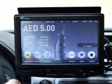 Smart taxi meters in Dubai with new features
