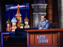Colbert's Russia episodes win ratings game