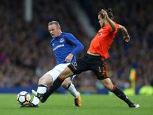 Second 'debut' for Rooney in Everton win