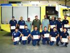 Firefighters honoured for rescuing residents