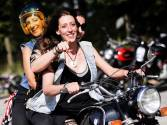 Women's-only motorcycle rally in Germany
