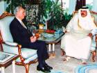 Hamad Bin Khalifa made friends with the enemy