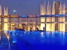 Pay this much to use Burj Khalifa pool