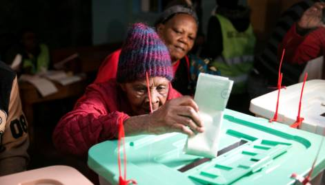 In Pictures: Kenya goes to the polls