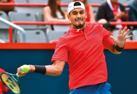 Injury-plagued Kyrgios in Montreal 2nd round