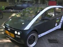 'Biodegradable', electric car unveiled