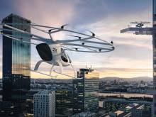 New photos of Dubai's flying taxis revealed