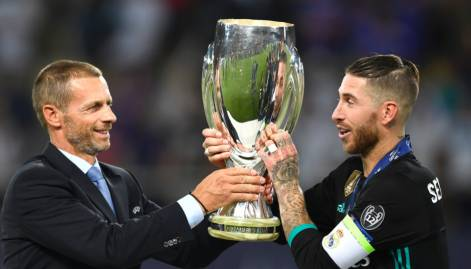 Pictures: Real Madrid win UEFA Super Cup