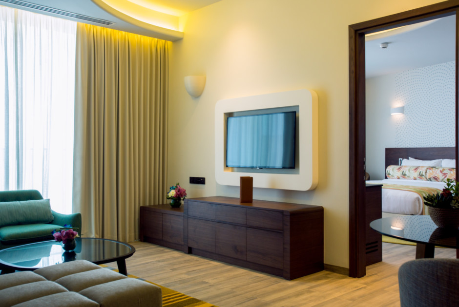 The Retreat Palm Dubai MGallery by Sofitel - One Bedroom Suite, Palm View