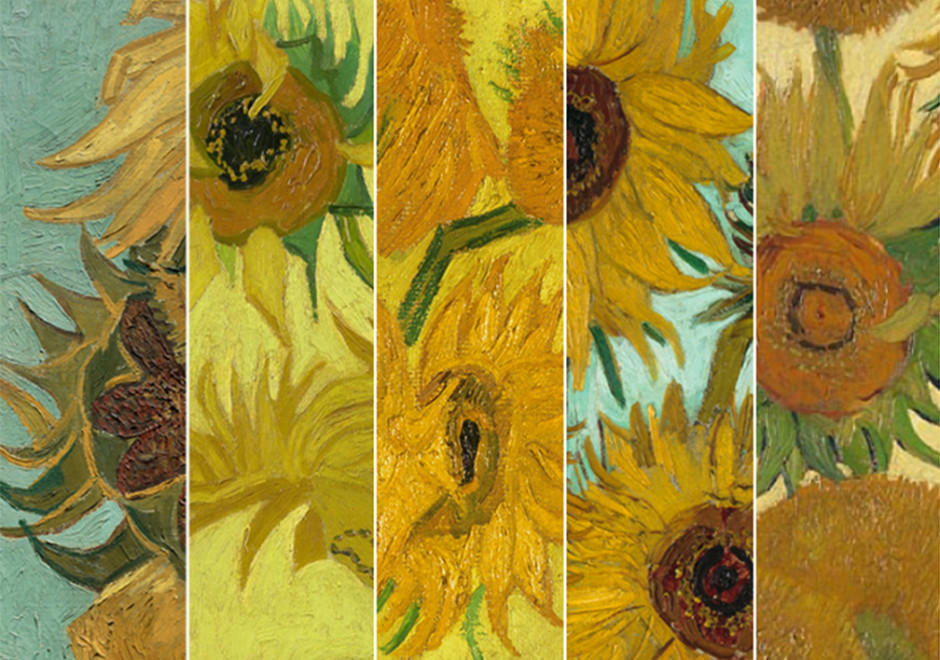 RDS_170816 Van Gogh Sunflowers 360 Cover Art Portrait