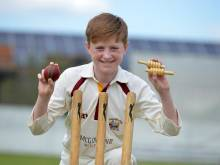 Teenager claims six wickets in one over